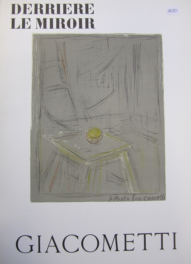 Alberto giacometti artrust in art we trust for Derriere le miroir giacometti