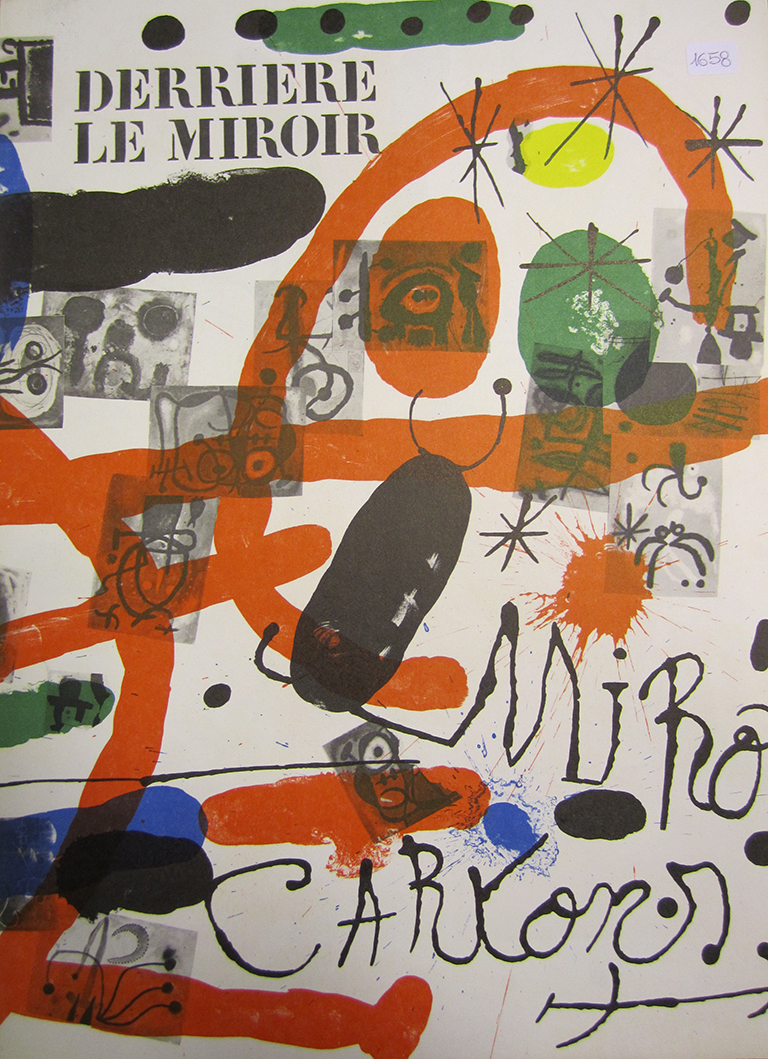 Joan mir artrust in art we trust for Miro derriere le miroir