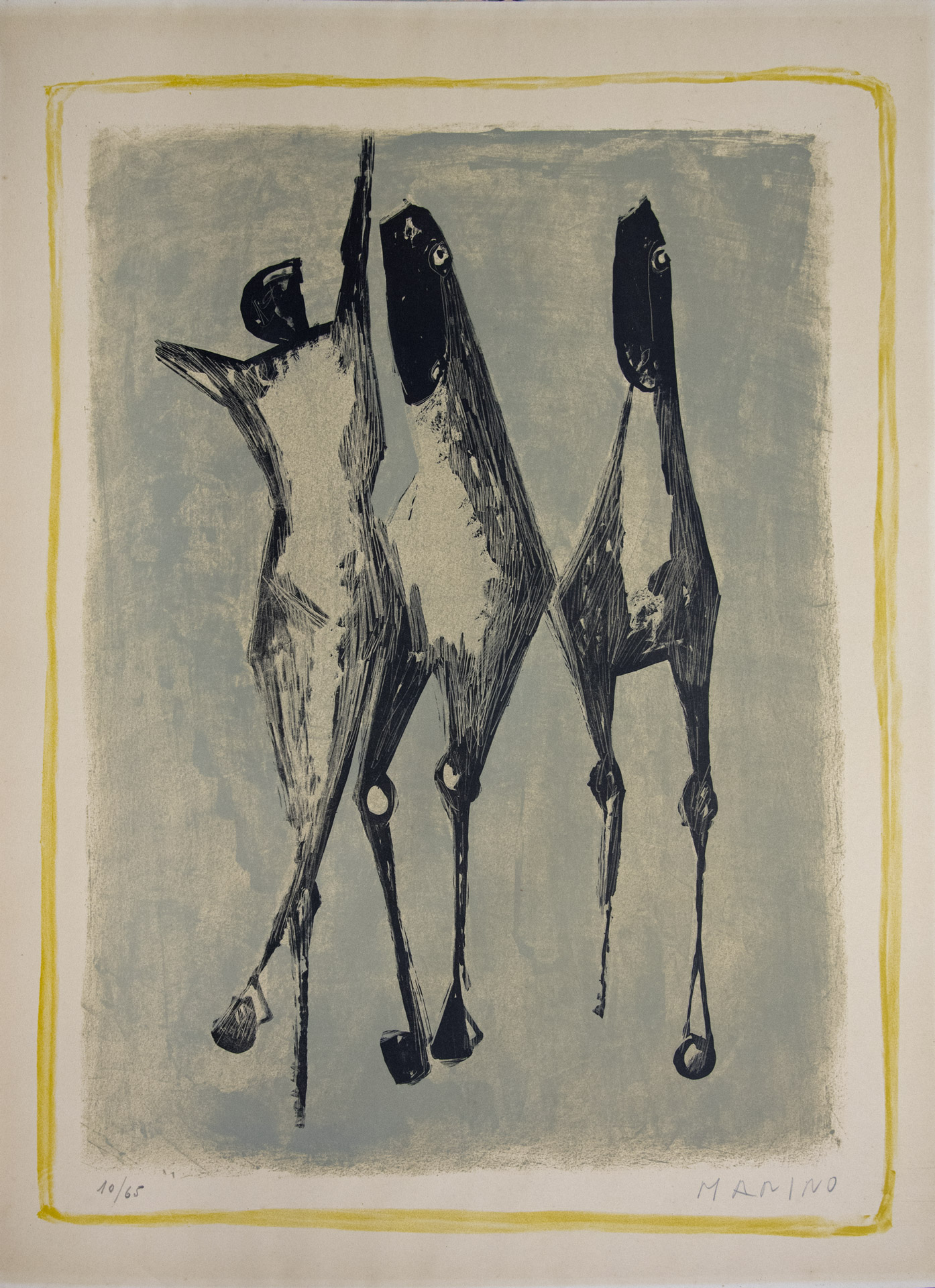 Figure and horse