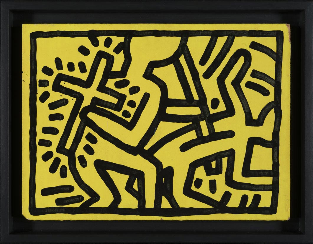 """Keith Haring. About art"""". The exhibition in Milan. – Artrust – In ..."""